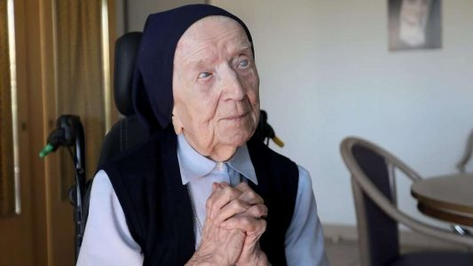 Ihr konnte das Corona-Virus nichts anhaben: Ordensschwester André, die mit bürgerlichem Namen Lucile Randon heißt