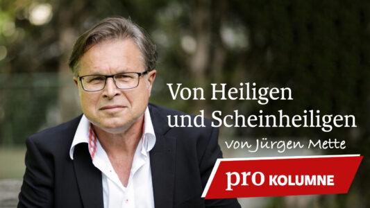 Fasten, nicht um gesünder zu leben, sondern für eine gesündere Beziehung zum Schöpfer: Dafür plädiert Jürgen Mette.
