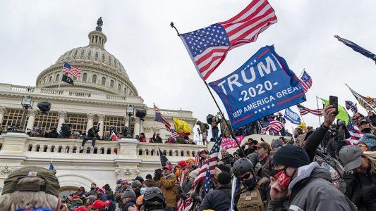 Trump-Anhänger stürmten am 6. Januar 2020 das Kapitol in Washington. Einige von ihnen rechtfertigten ihre Taten mit dem christlichen Glauben.