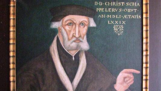 Bayern 2 nimmt in seinem Thementag auch eher unbekanntere Aspekte der Reformation in den Fokus: dazu gehört der Memminger Reformator Christoph Schappeler