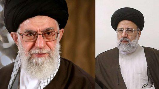 Chamenei, Raisi, Iran