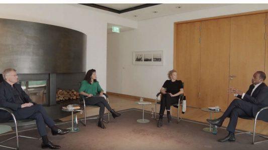 Diskussionsrunde mit Katja Riemann