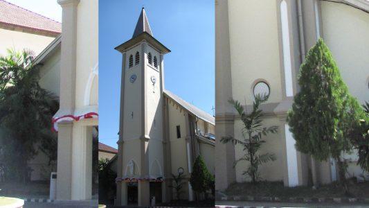 Katholische Kathedrale Makassar, Indonesien