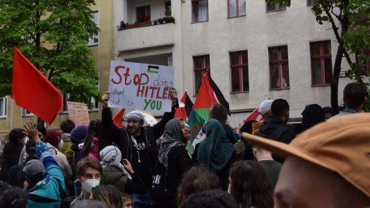 pro-palästinensische Demo, Israel, Antisemitismus