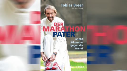 """Buchcover """"Der Marathon Pater"""""""