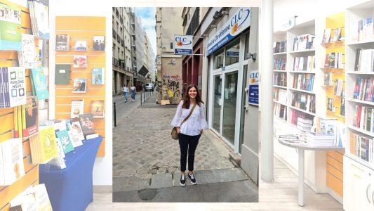 Valerie WOlf, Christliche Buchhandlung, Paris CLC