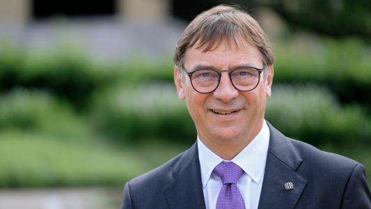 Der Sportbeauftragte der EKD, Volker Jung
