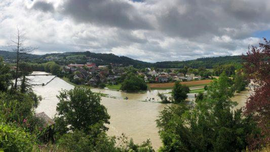 Hochwasser-Bild