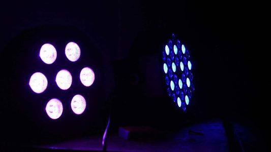 Scheinwerfer, Licht, Disko